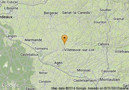 Map Showing: Chateau Trieux